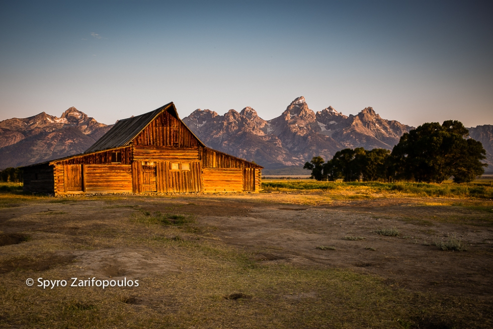 Multon Barn, Wyoming